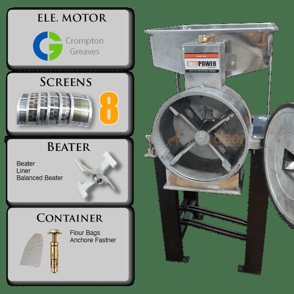 2 in 1 Flour Mill Machine accessories