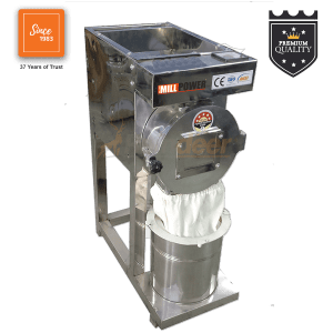 2 in 1 SS304 Compact Pulverizer Automatic