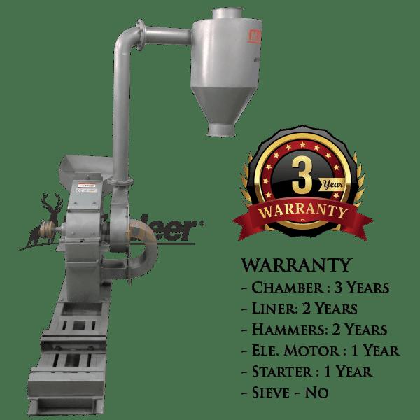 3yrs warranty blower pulverizer heavy ms