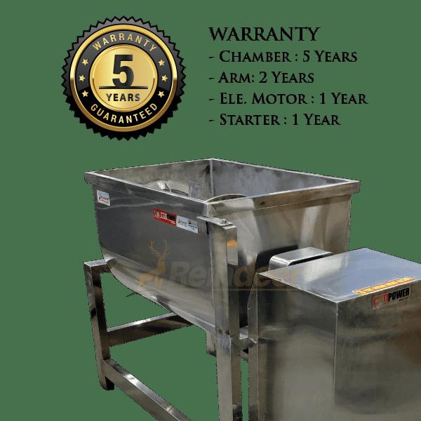 5yrs warranty Ribbon Blender Machine Mixer
