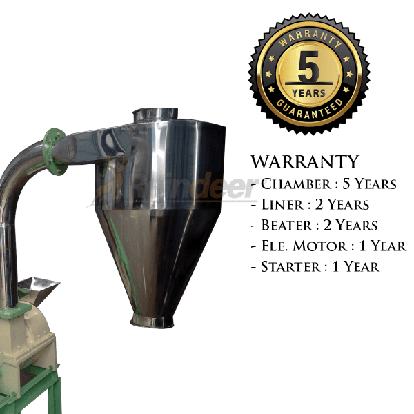 5yrs warranty ss impact pulverizer