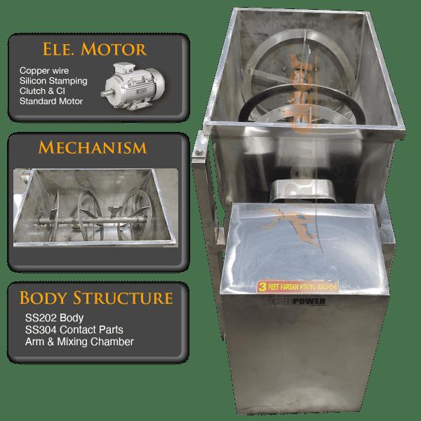 Ribbon Blender Machine Mixer manufacturer
