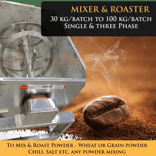 Ribbon Blender Machine Mixer powder roasting
