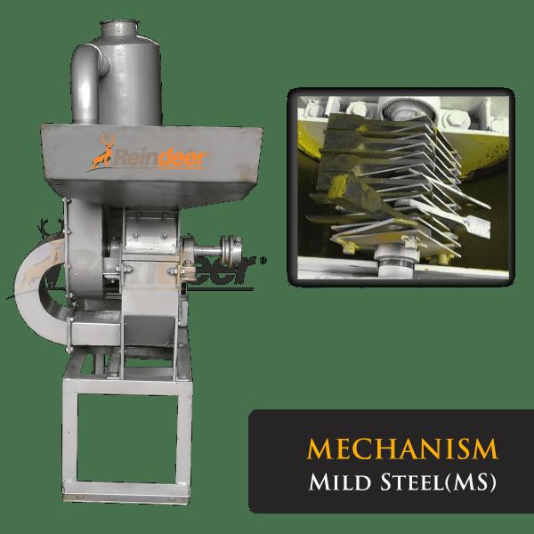 blower pulverizer ms mechanism