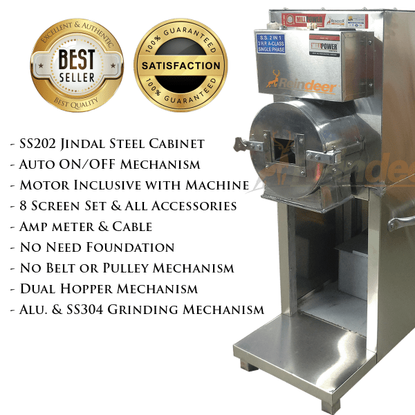 features of heavy pulverizer in india