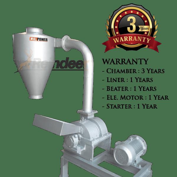 impact pulverizer CI MS 3yrs warranty