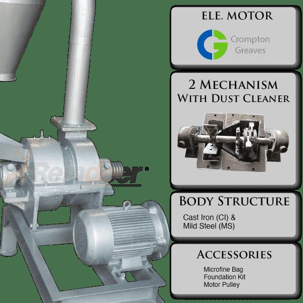 impact pulverizer heavy parts