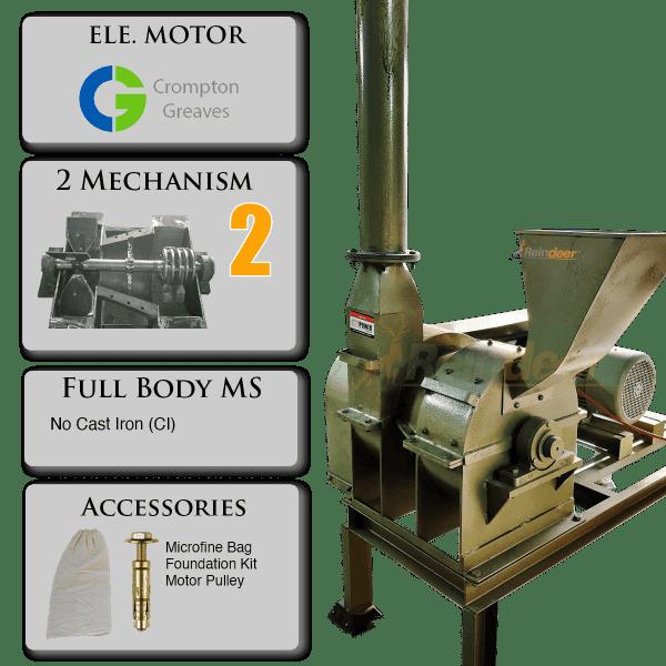 impact pulverizer plus MS parts