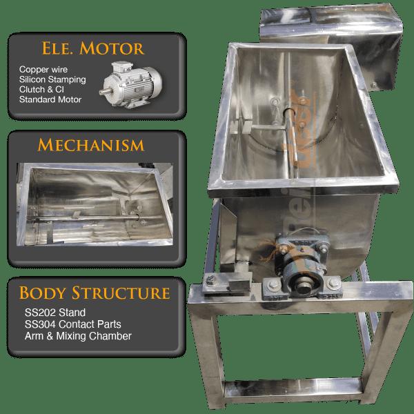 masala grinding machine motor and parts