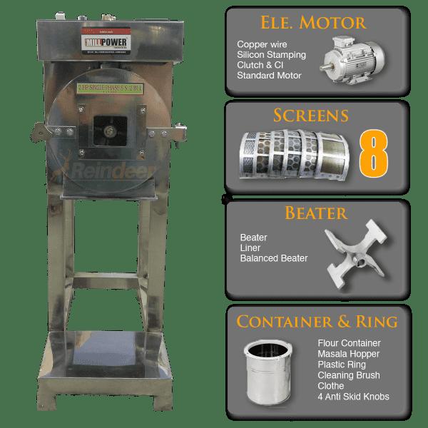 ms compact pulverizer machine