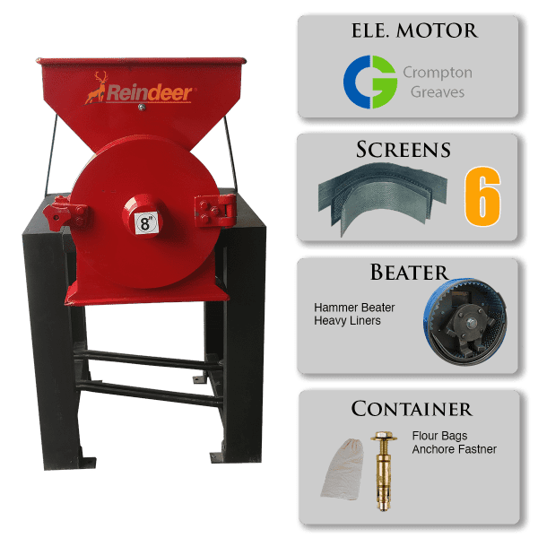 ms hammer pulverizer motor