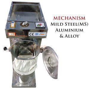 ms pulveriser mechanism