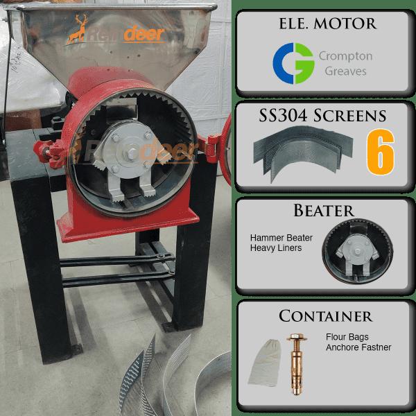 ss hammer pulverizer parts